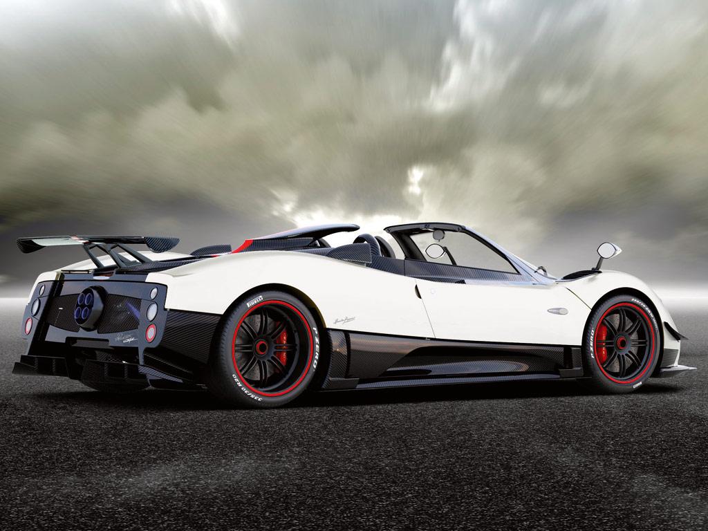 Pagani Automobili - Pagani Zonda Cinque Roadster
