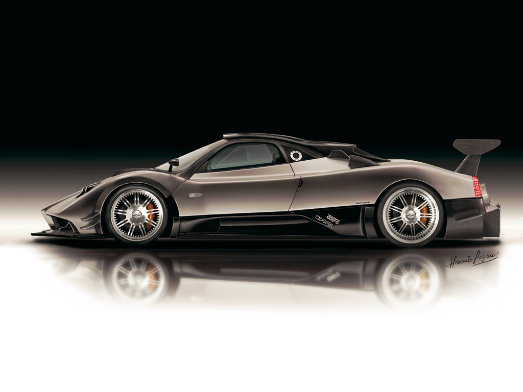 Cars Beautyfull Wallpapers 2010 Pagani Zonda R Images